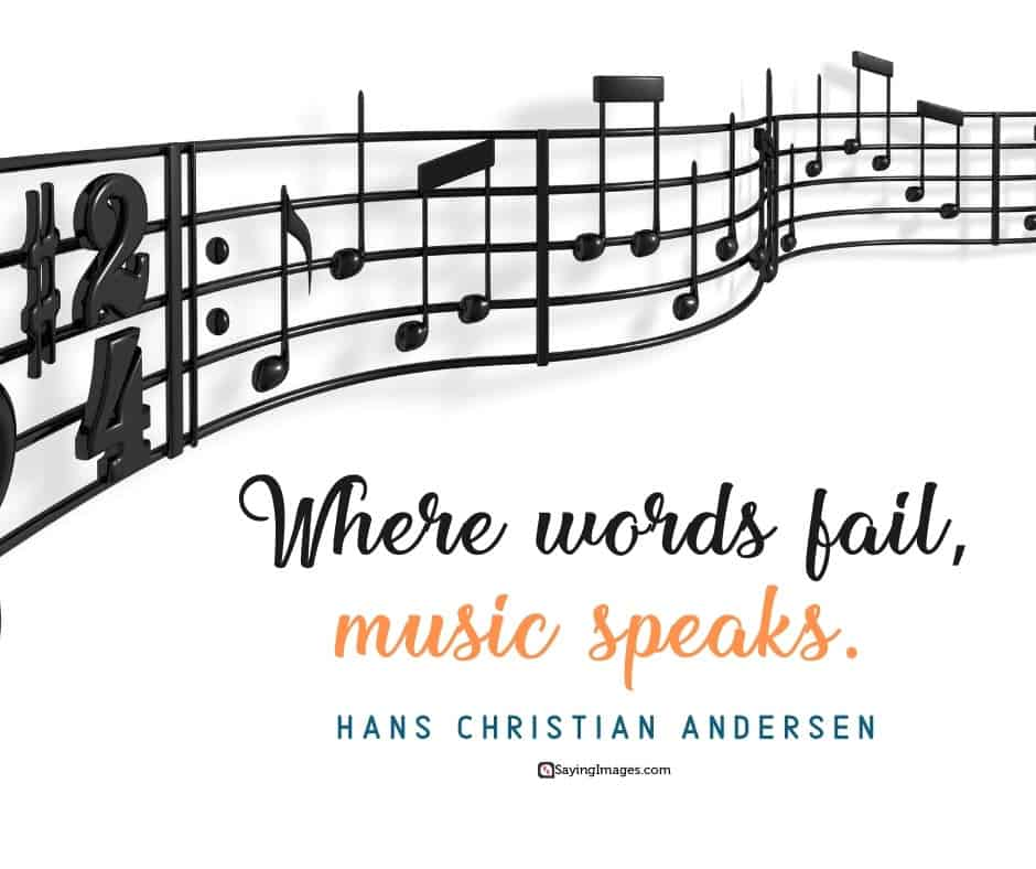 music words quotes