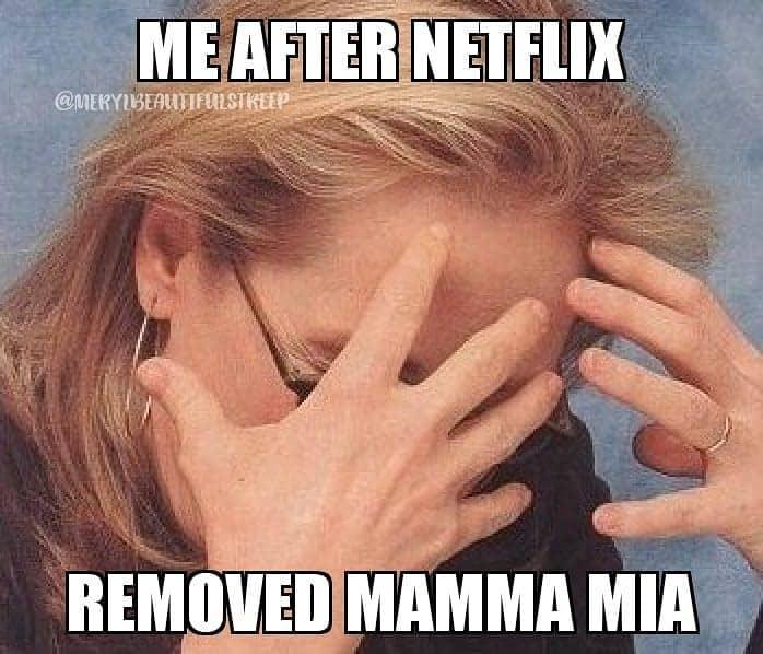 netflix mamamia meme