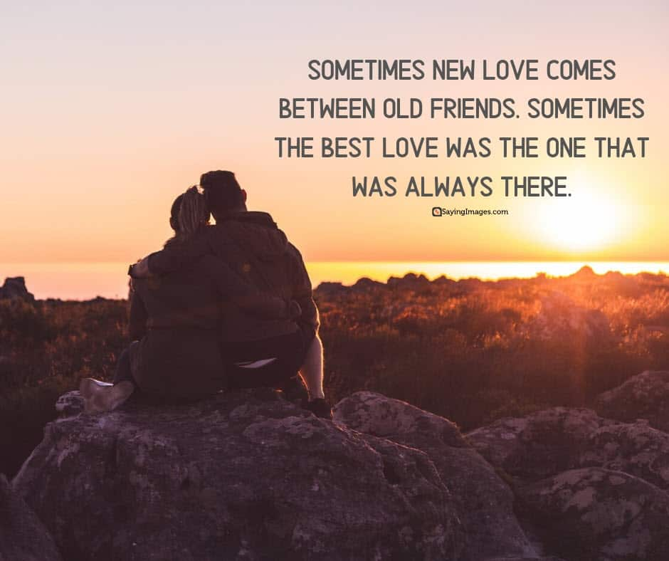 new love friends quotes