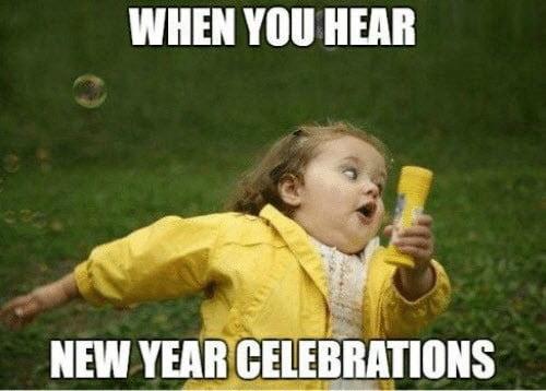 new year celebrations meme