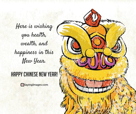 new year chinese wish