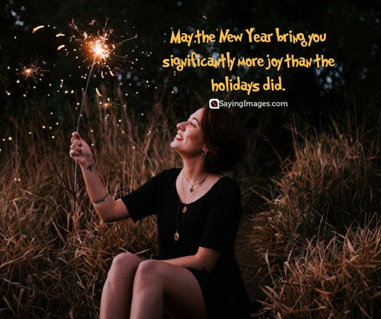 new year holiday wish
