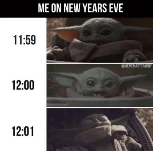 new year me meme