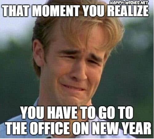 new year office meme