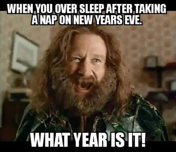 new year over sleep meme