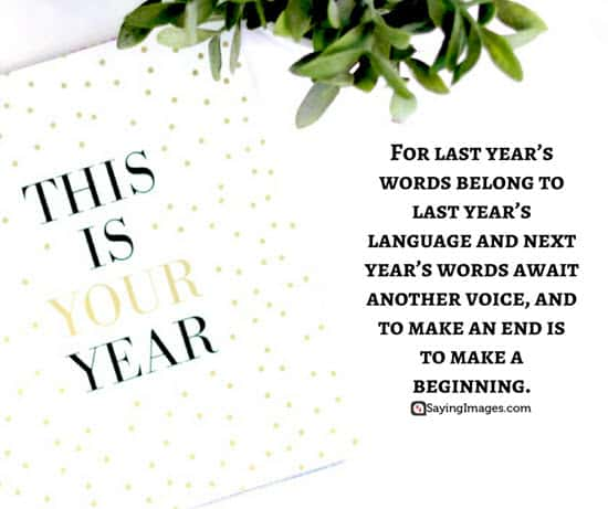 30 Inspirational New Year\'s Eve Quotes & Sayings | SayingImages.com