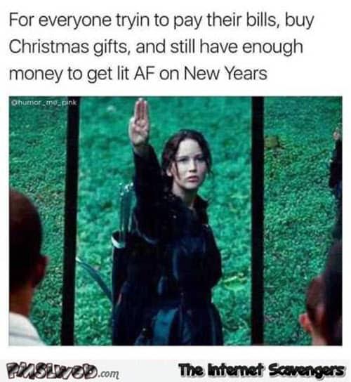 new year still have enough money meme