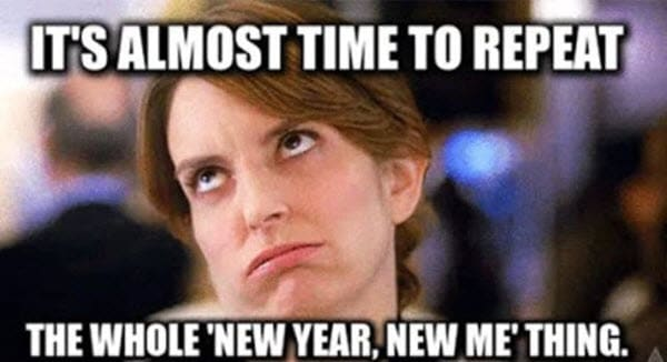 new year time to repeat meme