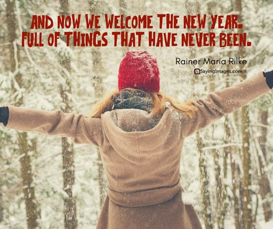 new year welcome quote