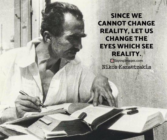 nikos kazantzakis change quotes