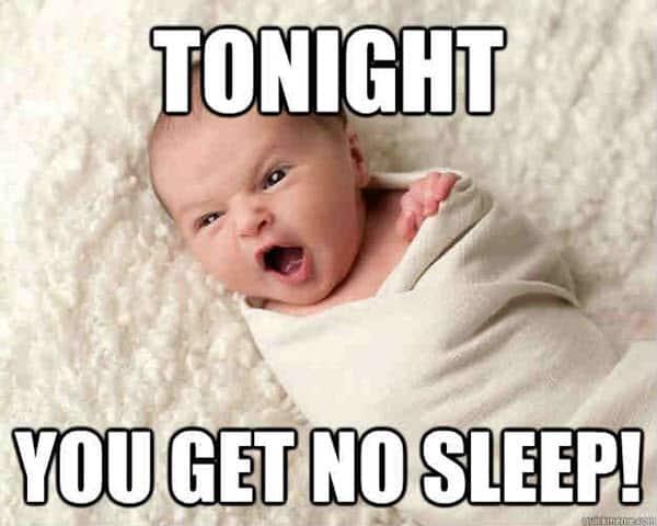 no sleep tonight meme
