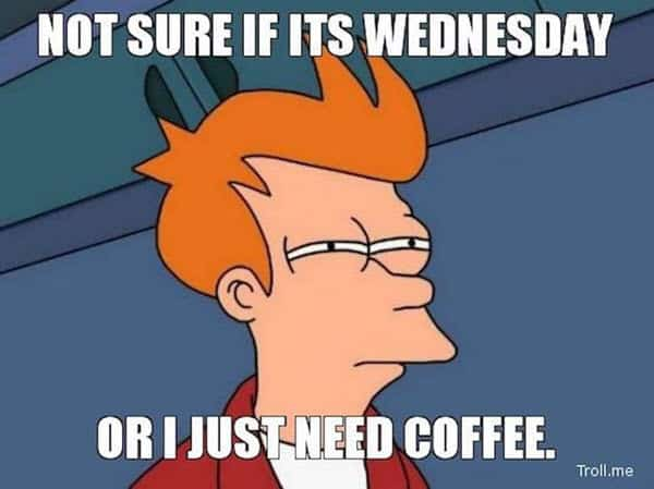 not sure if its wednesday meme