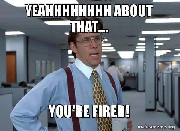 Image result for you're fired images