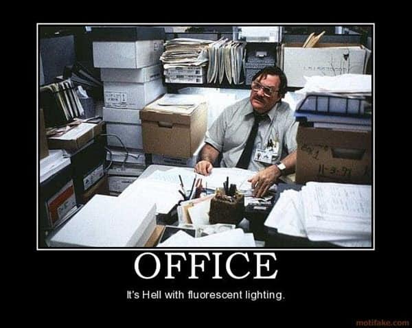 office space hell meme
