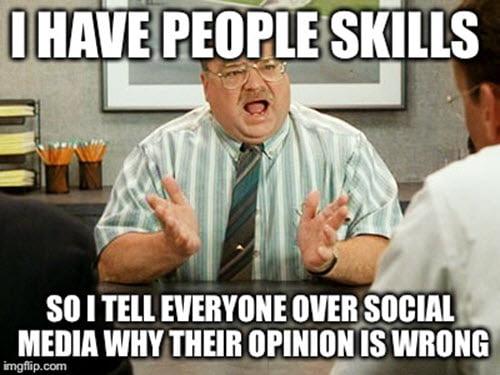 office space people skills meme