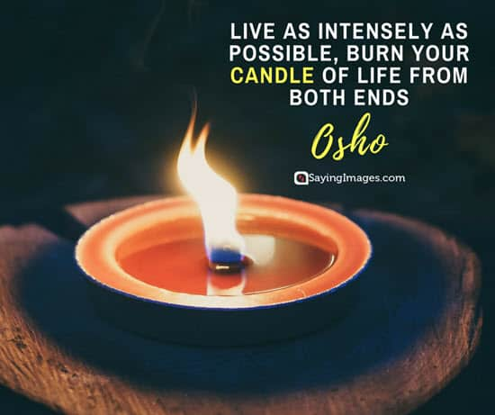 osho candle quotes