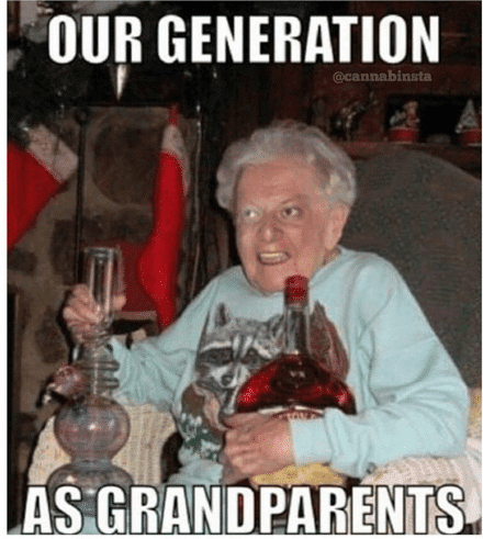25 Heartwarming Grandparent Memes Sayingimagescom
