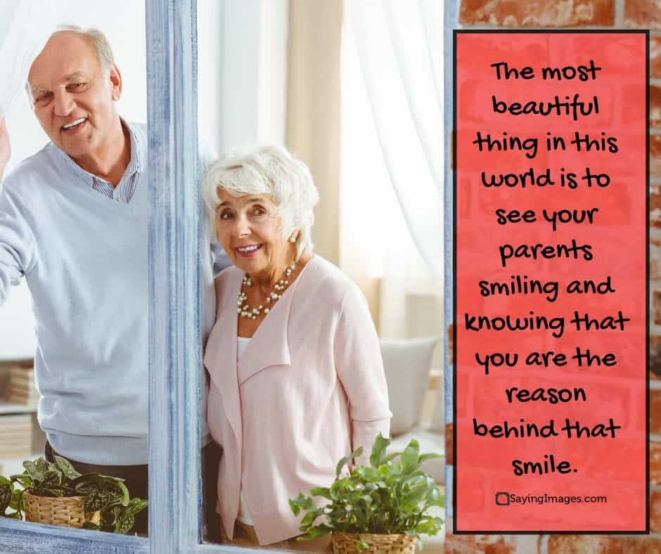 parents day smile quotes