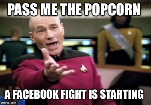 pass me the popcorn a facebook fight is starting meme 20 popcorn memes for when you're just here for the comments