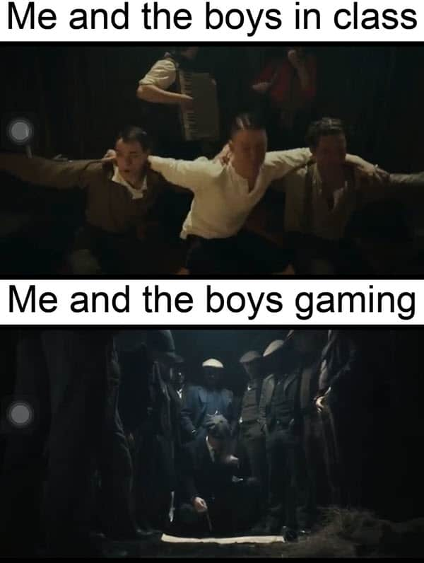 peaky blinders me and the boys memes