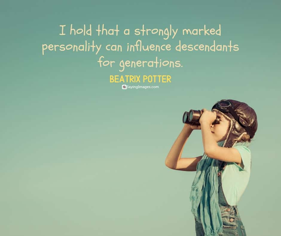 personality generations quotes
