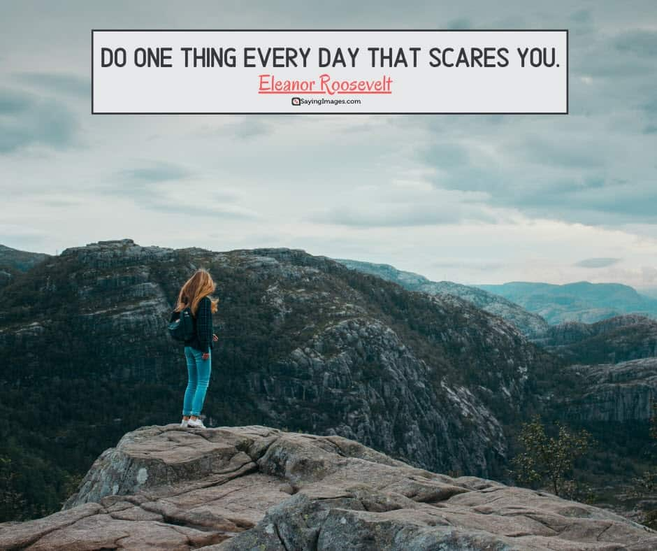 positive inspirational scares quotes about life