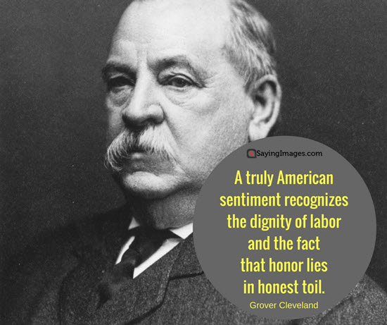 president grover cleveland quote