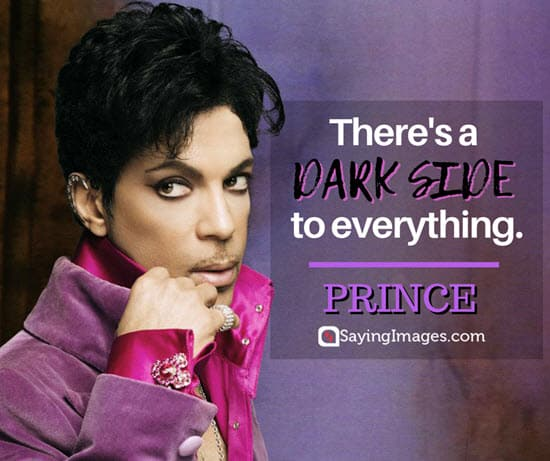 prince dark quotes