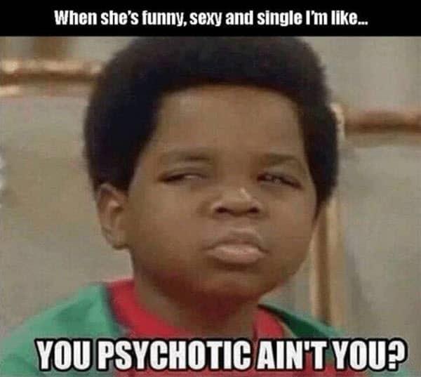 psycho aint you meme