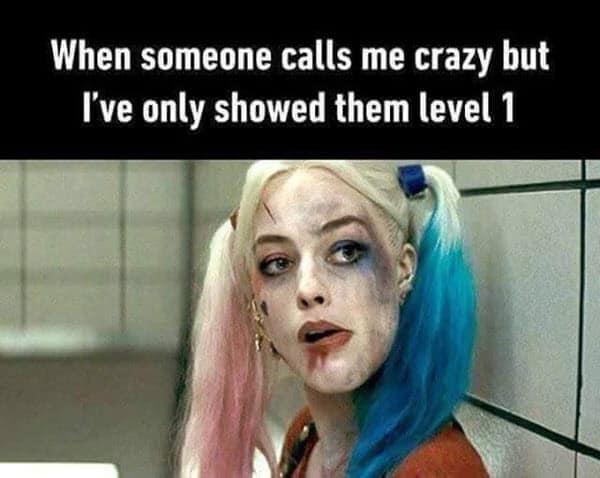 psycho level 1 meme