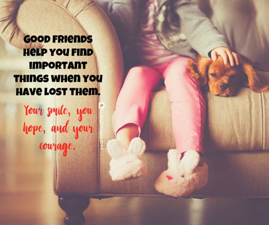 quotes about good friends