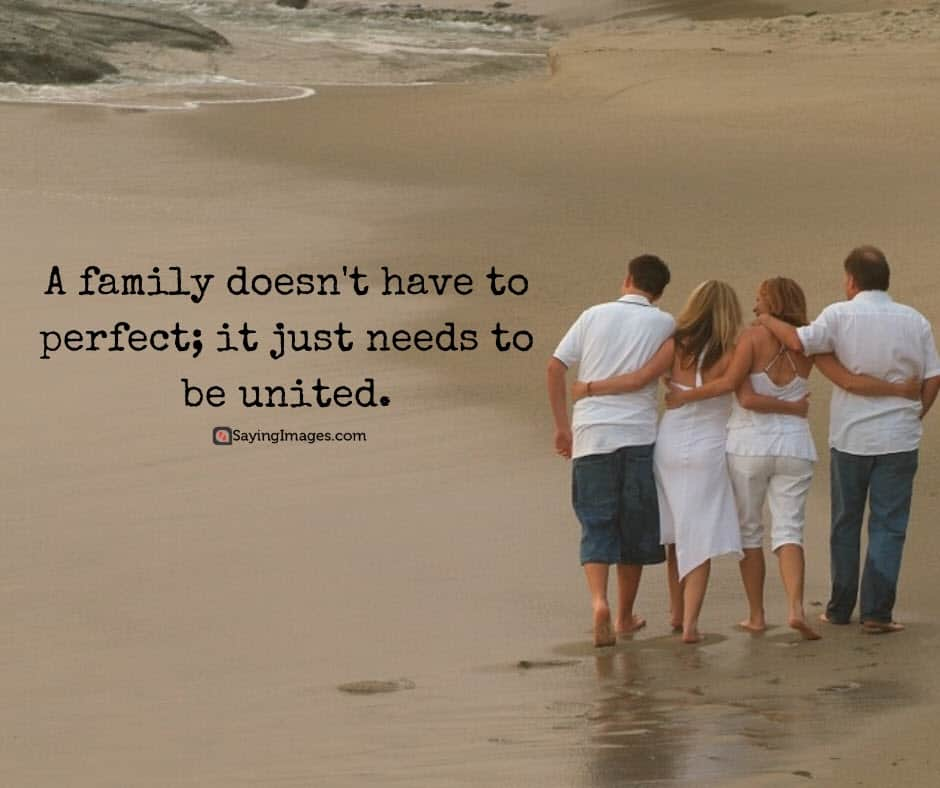 quotes about perfect family