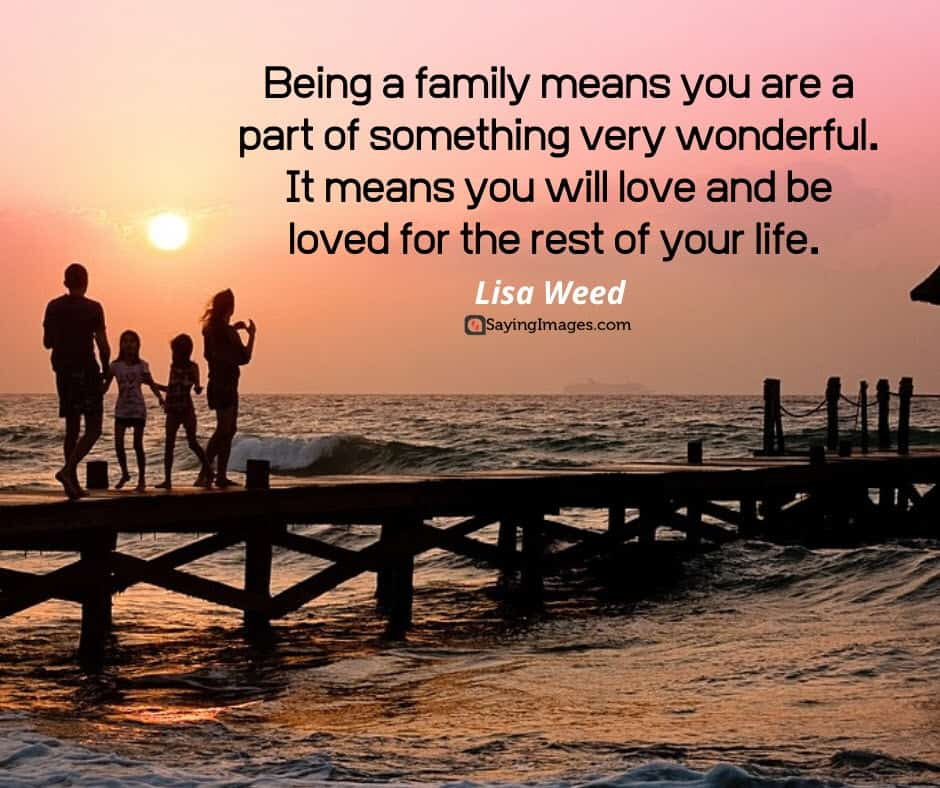 quotes about wonderful family