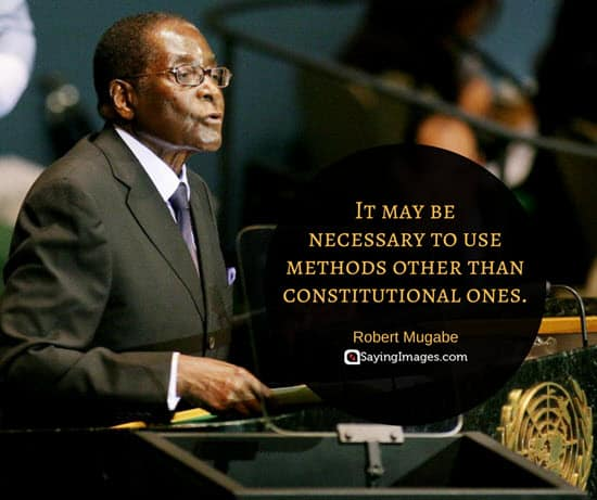 quotes by robert mugabe