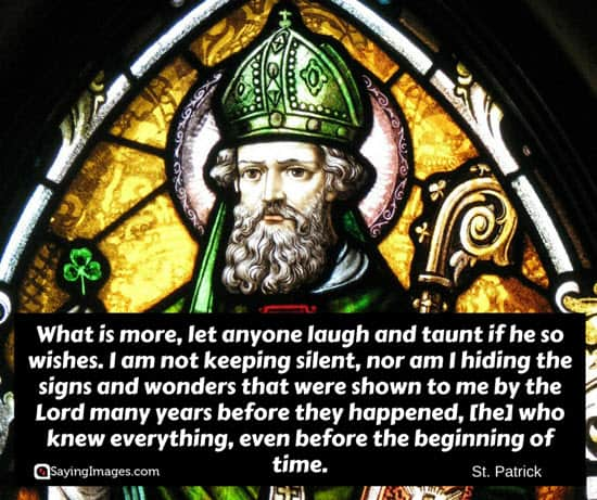 quotes by st patrick