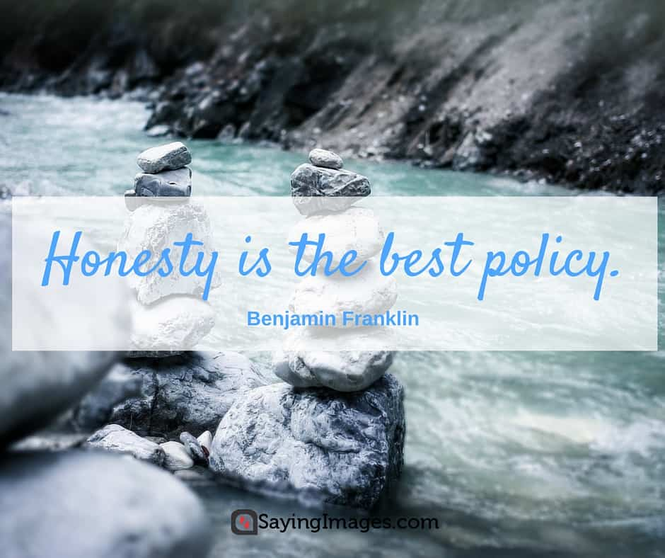honesty is the best policy quote meaning