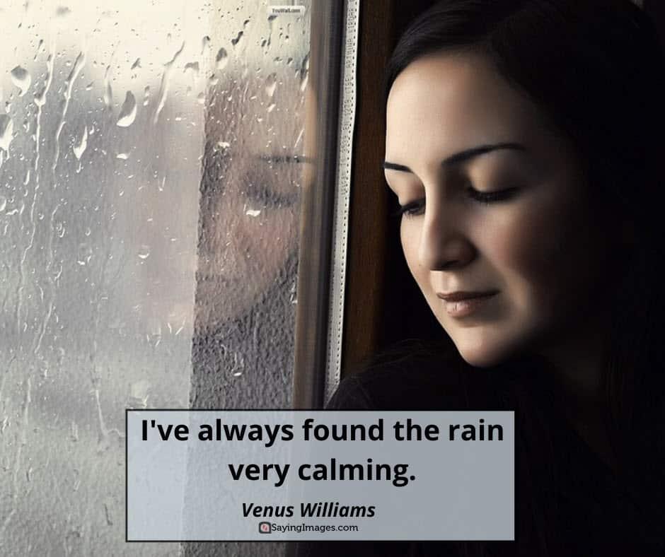 rain calming quotes