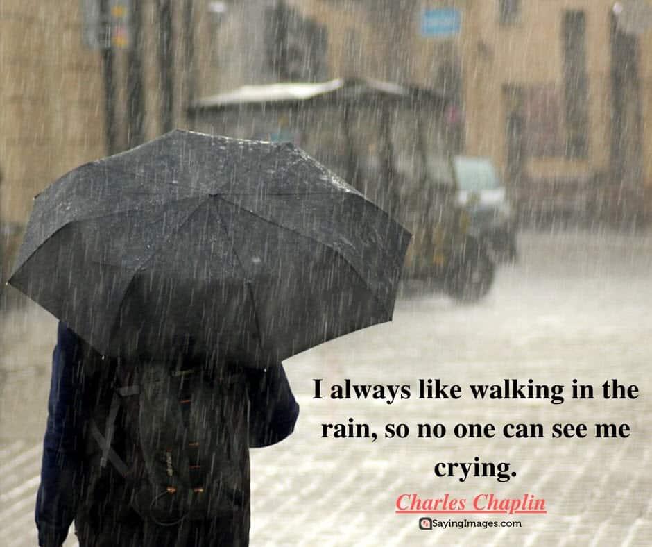 rain crying quotes