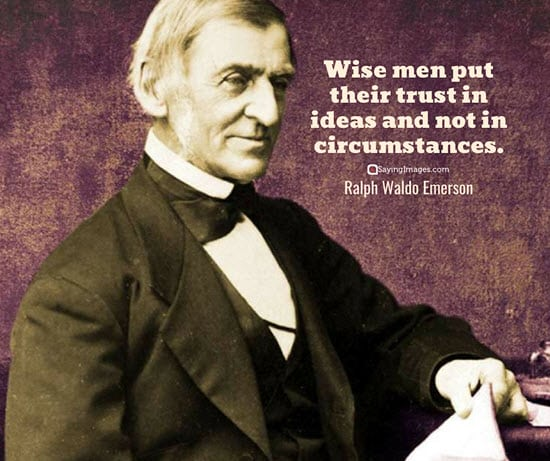 ralph waldo emerson trust quotes