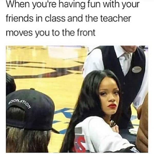 really funny having fun with your friends in class memes