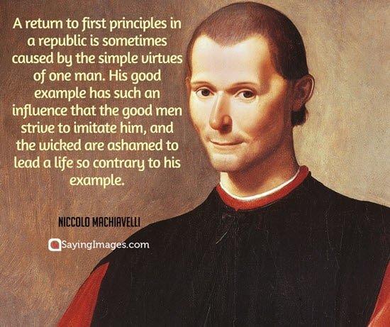 republic day quotes niccolo machiavelli