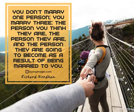 richard needham marriage quotes