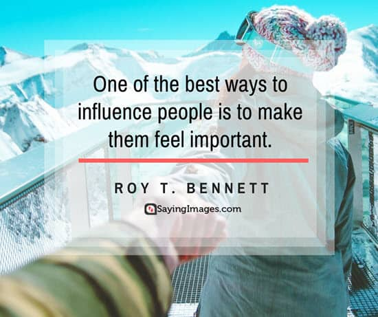 roy bennett influence quotes