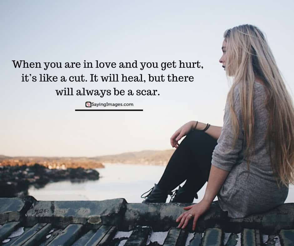 sad love heal quotes
