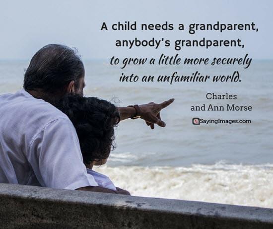 sayings for grandparents
