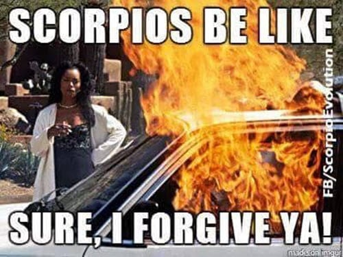 scorpio be like memes