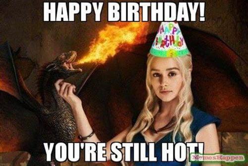 sexy birthday still hot meme