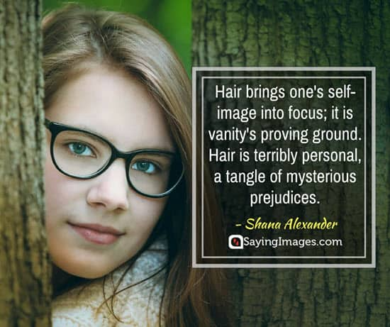 shana alexander hair quotes