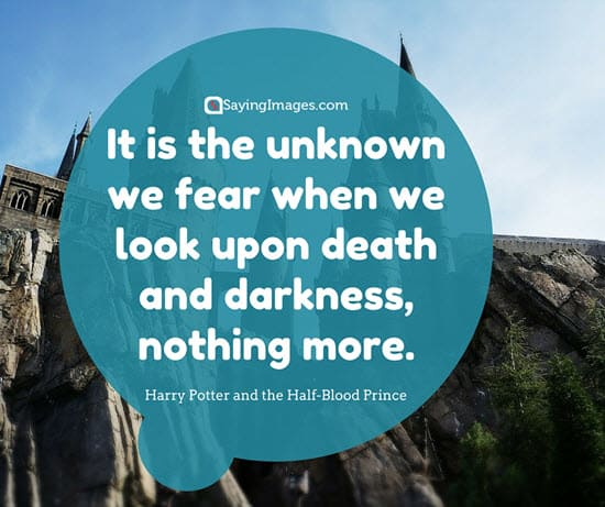 Fear Itself >> 30 Most Popular Harry Potter Quotes | SayingImages.com