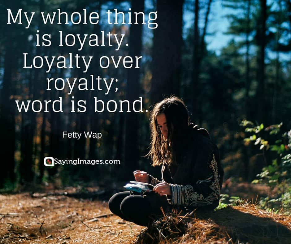 short loyalty quotes